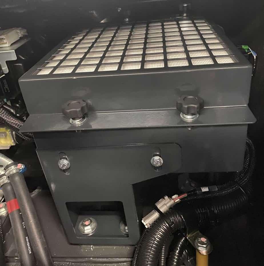 Komatsu 830E wiring