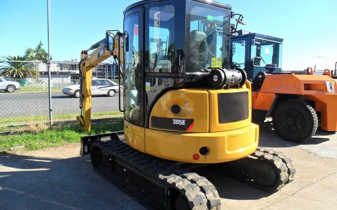 Caterpillar 305E Excavator BreatheSafe
